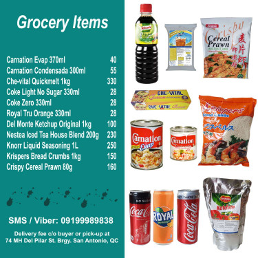 NO LONG LINES, NO SOCIAL DISTANCING! Grocery items delivered right to your ...