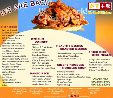WE ARE BACK! Mr. Choi welcomes you to dine in or order for take-out & ...